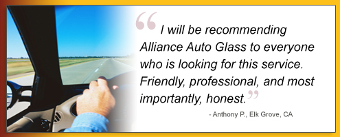 Windshield replacement Alliance Auto Glass